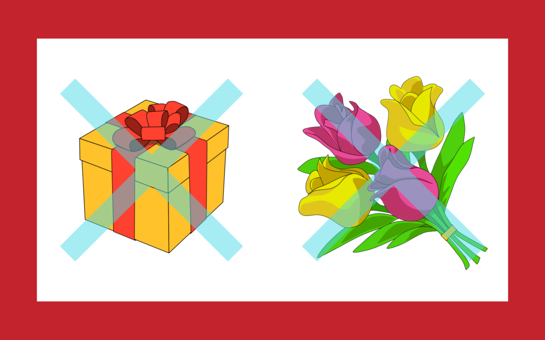 Cadeaux, fleurs, etc…
